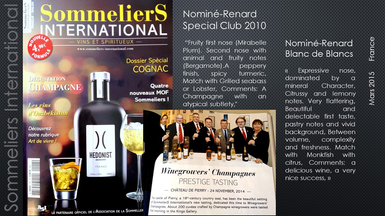 sommeliers international champagne nomin renard